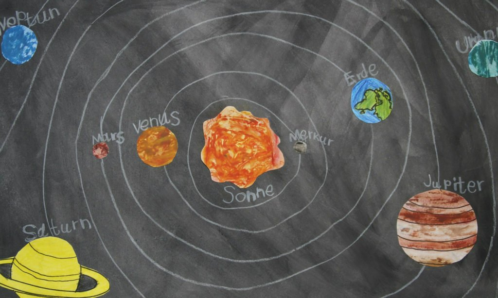 奇蹟の3次元時空を可能にする太陽系